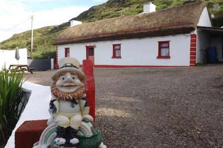 Cronkeerin Thatched Cottage Ardara Donegal Ireland - Ardara - Blockhütte