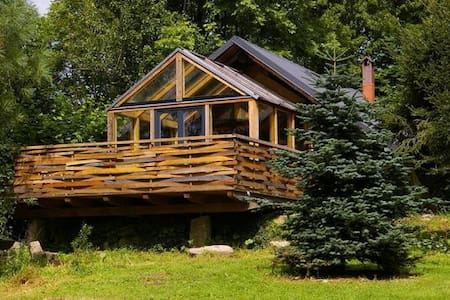 Loghouse Cabin near the Polish Giant Mountains