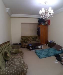 Separate Bedroom, with 2 sofas and 2 floor mattres