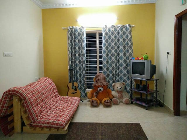 Cozy 2bhk on a leafy road - Bengaluru - Hus