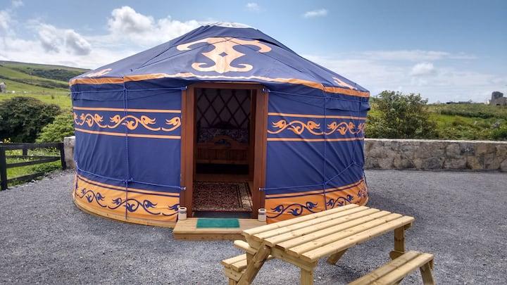 Mongolian Yurt - Doolin Glamping