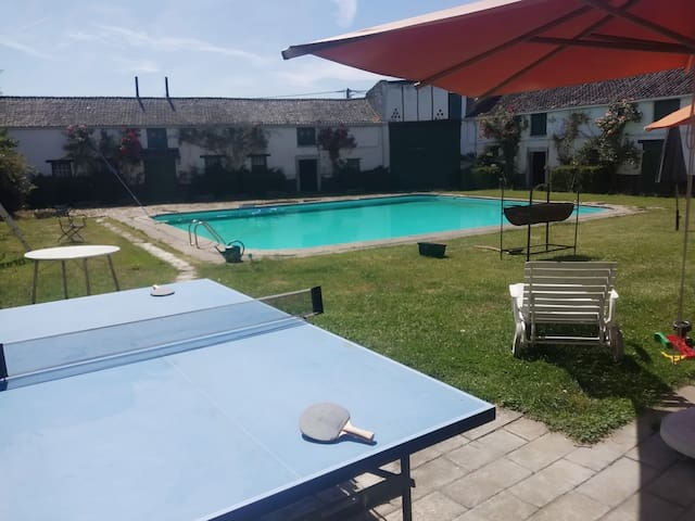 lovely guesthouse with huge swimming pool!