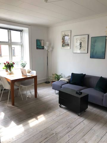Charming and rustic apartment at Nørrebro