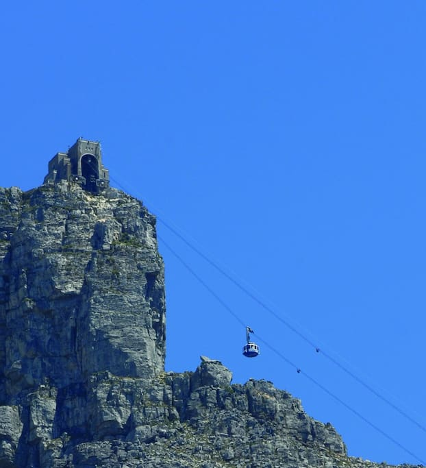 The mysticism of Table Mountain is ever present in Cape Town. Great day to hike up the mountain and take the cable car back down.