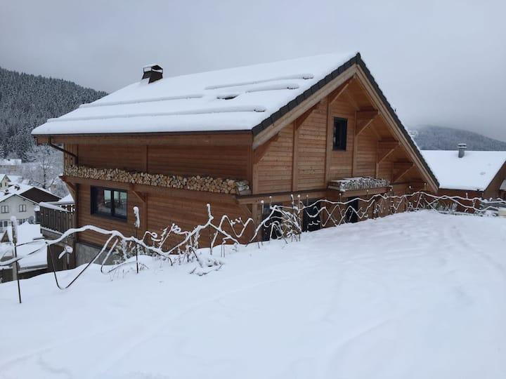 Gérardmer/Xonrupt Chalet 4*, pistes ski, jeux, Spa