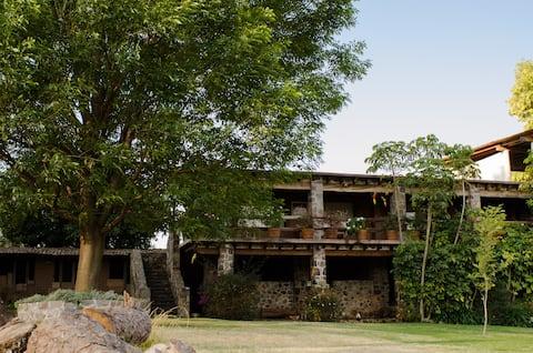 Rancho RJ, ofrece un ambiente de naturaleza.