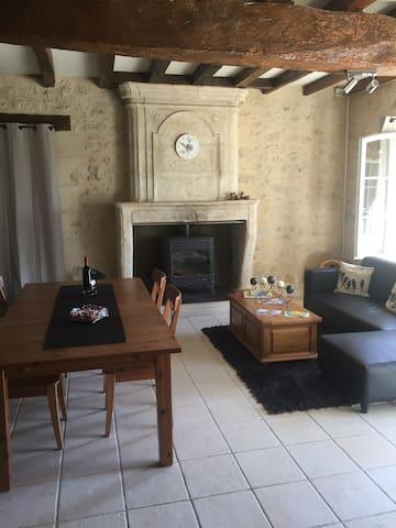Maison typique girondine - Saint Aignan  - Dům