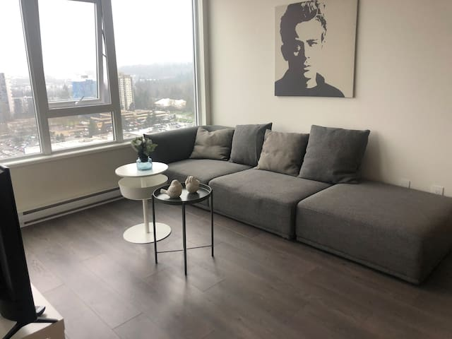 Coquitlam downtown brand new one-room apartment