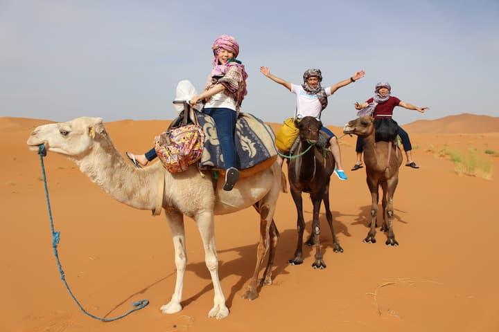 Experience Sahara Desert