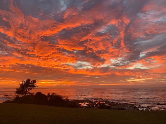 Beautiful sunrise Cronulla Beach.