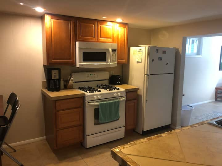 Private in-house apartment near campus