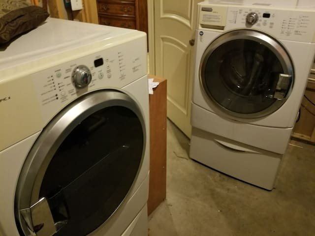 private washer and dryer