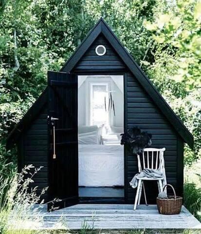 Cabana Dormitor in natura