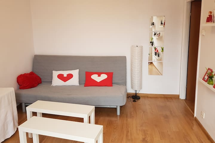 Heart of Warsaw! Quiet & clean. No hidden fees - Warszawa - Wohnung