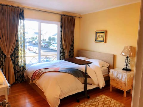 cozy private Room near 🚞 station& ✈️Airport&Mall 5