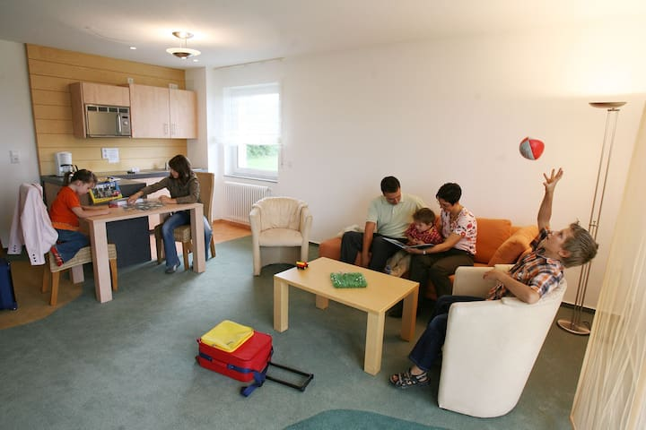 Apartmenthaus SportCHALET - 3-Zimmer-Apartment - Bad Dürrheim - Appartement