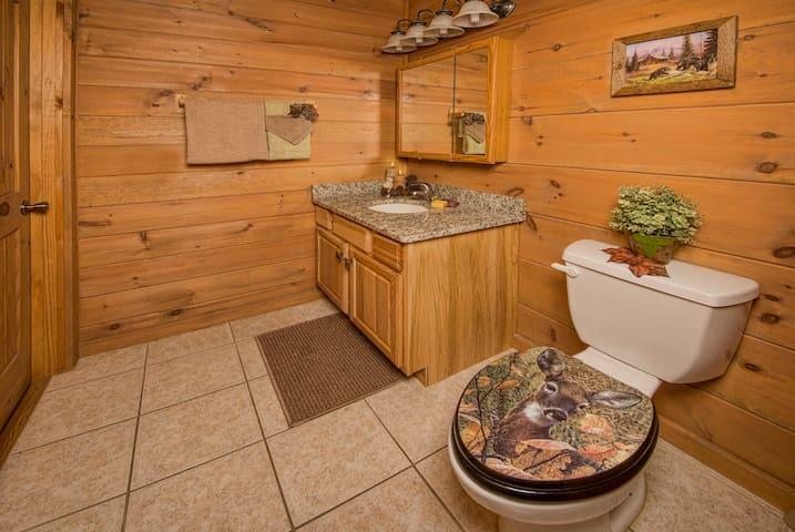 1st Floor 1/2 Bathroom with Laundry Closet