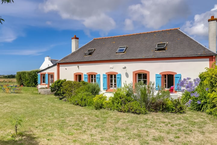 House with sea view (12p) Belle-Ile-en-Mer