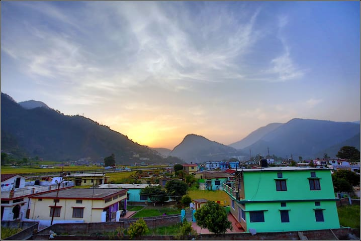 Rooftop view from Pyunli Home...