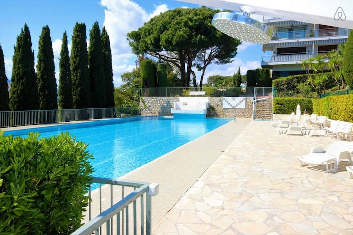 ELEGANT APT PRIVATE RESIDENCE - GARDEN AND POOL