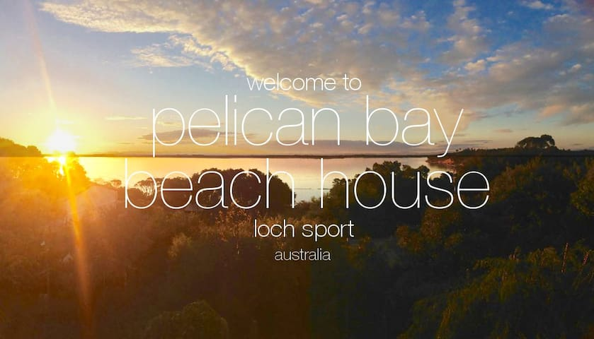 Pelican Bay Beach House, Loch Sport - BEST VIEWS!
