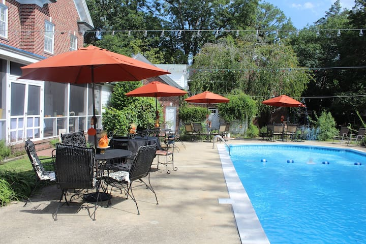The Pool & an acre of amenities you only share with a small number of guests.