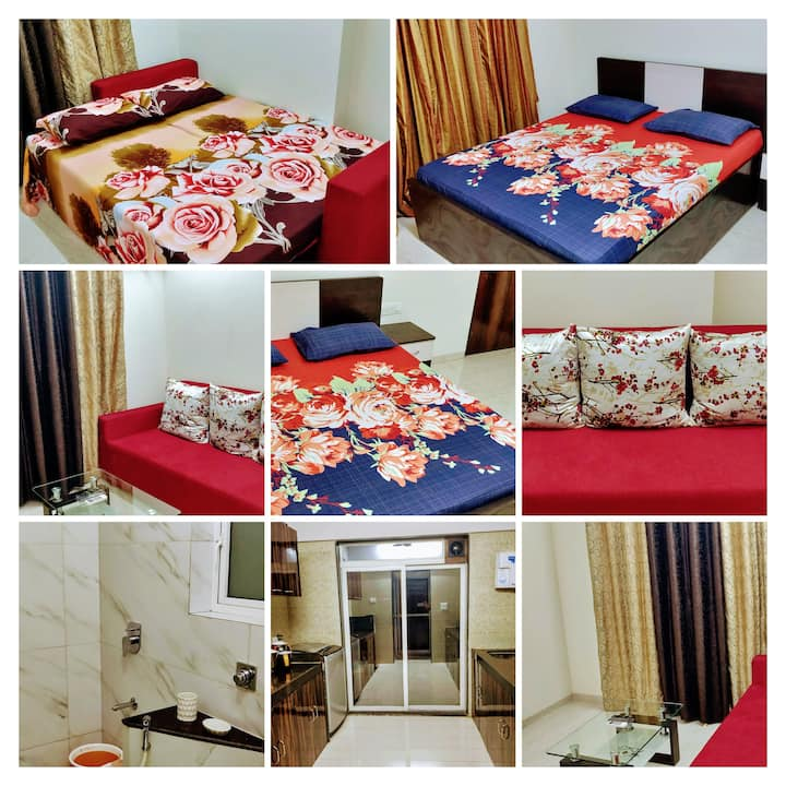 BLISS 08: WELL SANITISED 1BHK-4PX-ANDHERI HIGHWAY