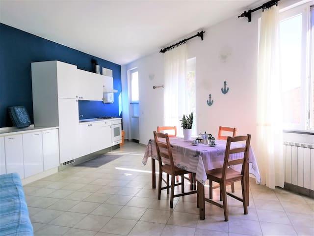 A Ciassa - Blue house