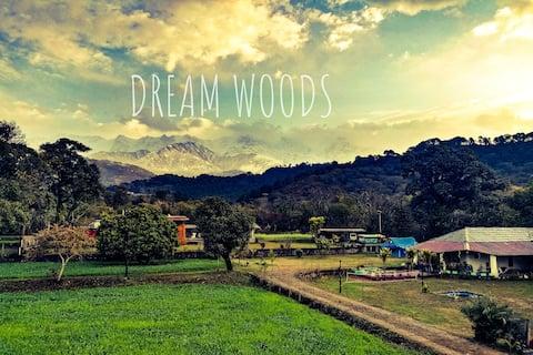 """DreamWoods"".......A mountain farm cottage;"