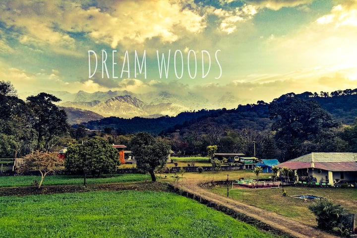 """DreamWoods"".......A mountain farm cottage;"