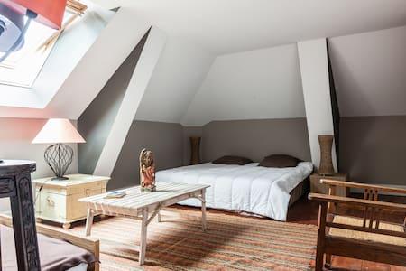 3 chambres dans manoir avec piscine - Pontonx-sur-l'Adour