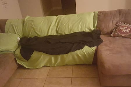 spacious, clean couch, shared space - Clovis