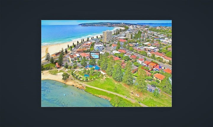 Manly beach accommodation perfect location new