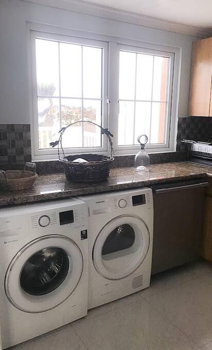 Washer & Dryer + Dishwasher