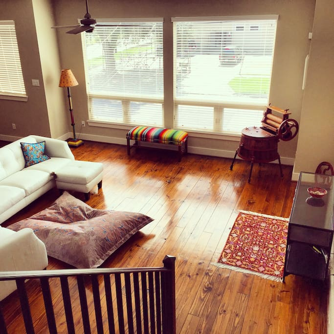 View of the shared living space