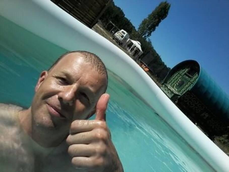 piscine d'été / summer swimming pool