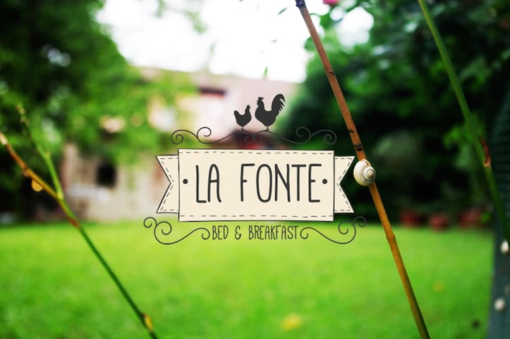 Bed and Breakfast La Fonte - Camera Chicchirichì - Valle - 家庭式旅館