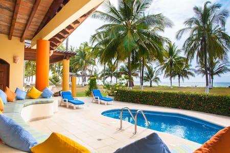Beachfront Pool and Luxury