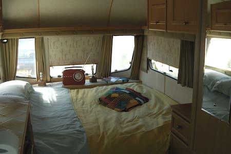 Lunar Clubman Vintage caravan - Cerne Abbas - Lakókocsi/lakóautó