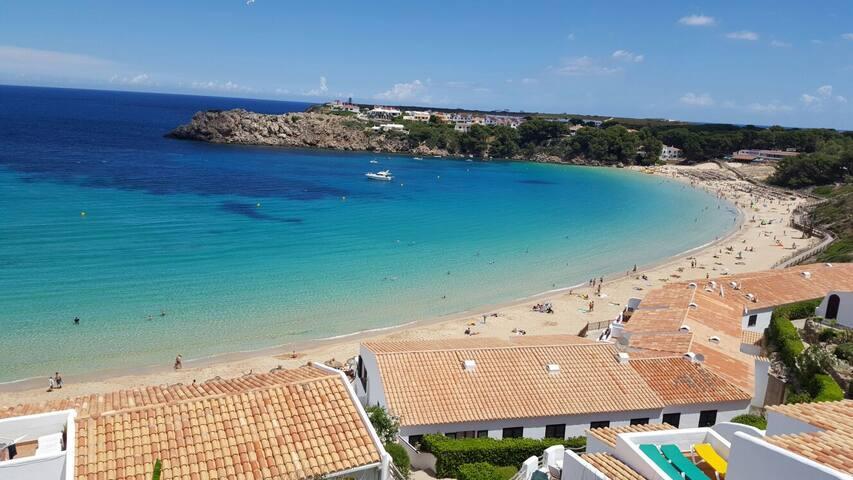 Acogedor apartamento cerca de la playa - Arenal d'en Castell - Apartamento