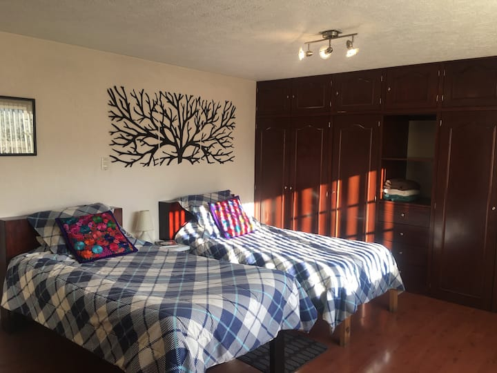 Comoda habitación privada en Metepec