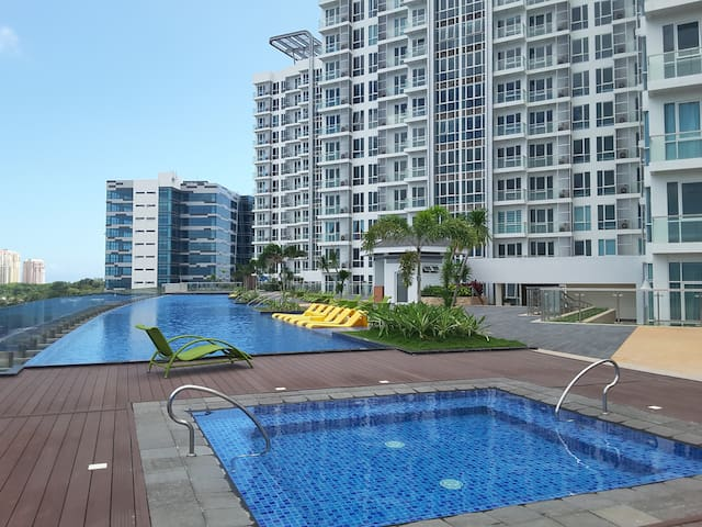 Mactan Newtown 1 BR, Twin Bed Sweet with Wifi - Lapu-Lapu City - Kondominium