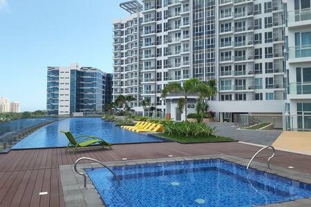 Mactan Newtown 1 BR, Twin Bed Sweet with Wifi - Lapu-Lapu City - Wohnung