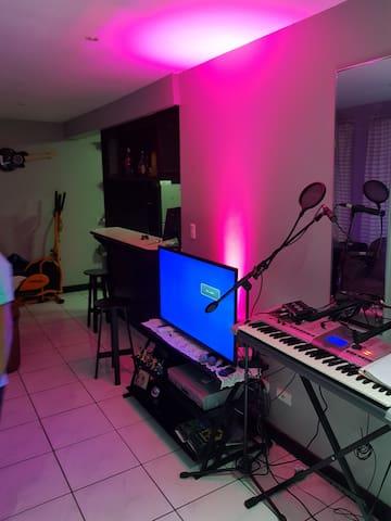 Casa de Artistas, músicos y para musicos