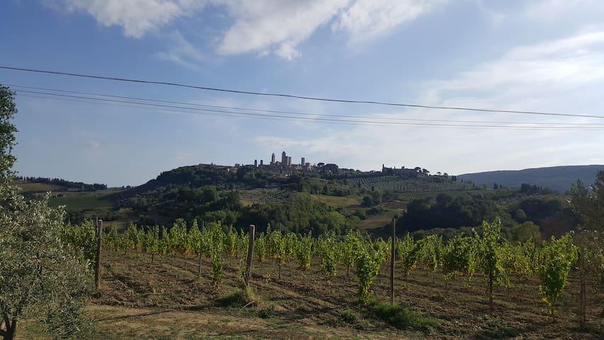 Dream Tuscan Villa in San Gimignano