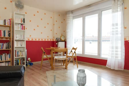 Beautiful & cozy apartment/Big terrace/Lovely view - Bagnolet