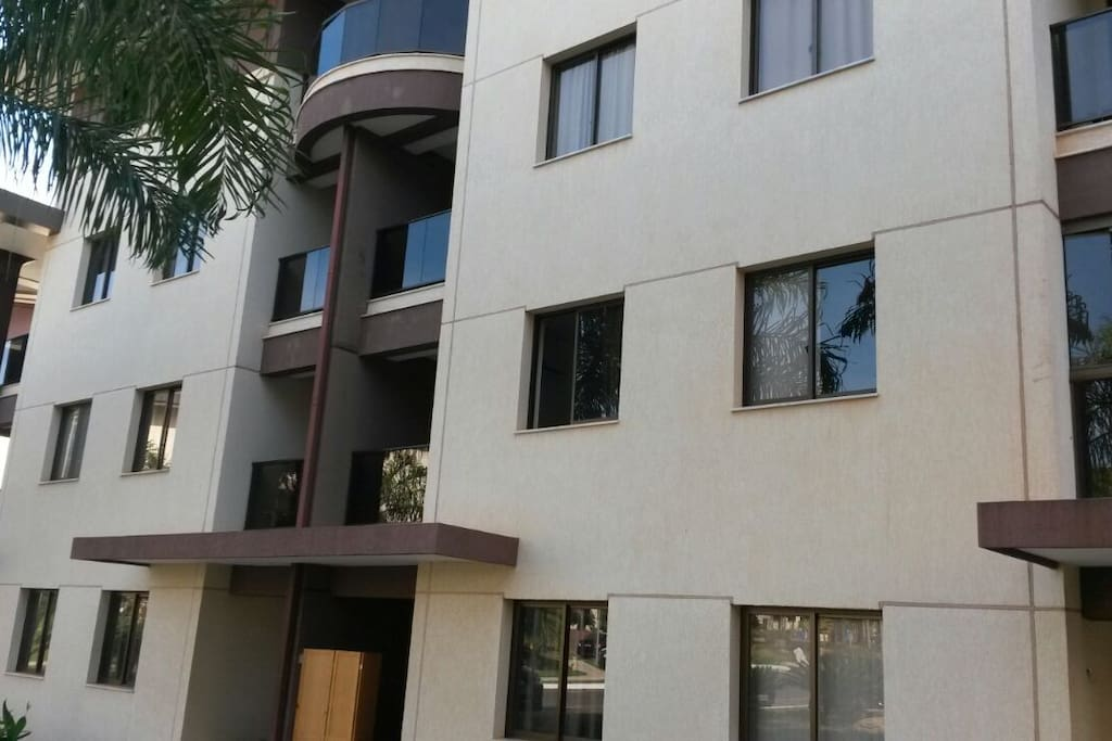 Edifício do apartamento
