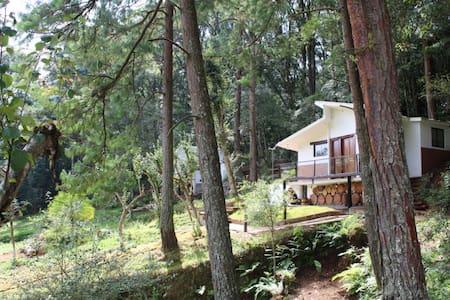 Cabaña 2 Rancho Los Barriles en Acaxochitlán