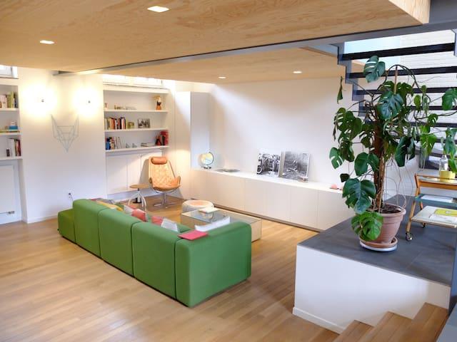 Appartement/Loft met tuintje - Antwerpen - Loft