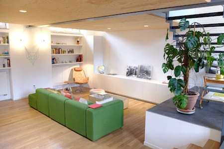 Appartement/Loft met tuintje - Ambéres